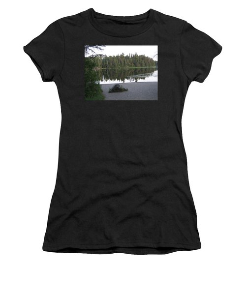 Reflections Lake 1 Women's T-Shirt (Athletic Fit)
