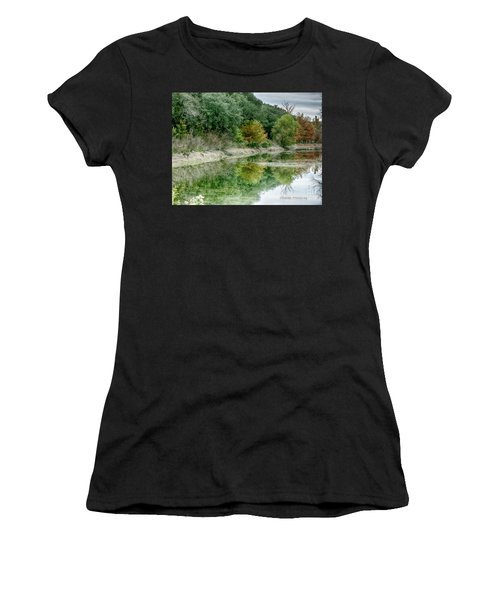 Reflections Of Fall Women's T-Shirt