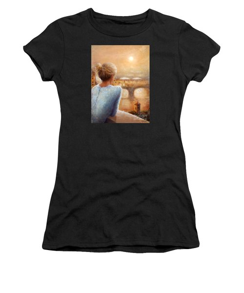 Reflections Of Florence Women's T-Shirt (Athletic Fit)