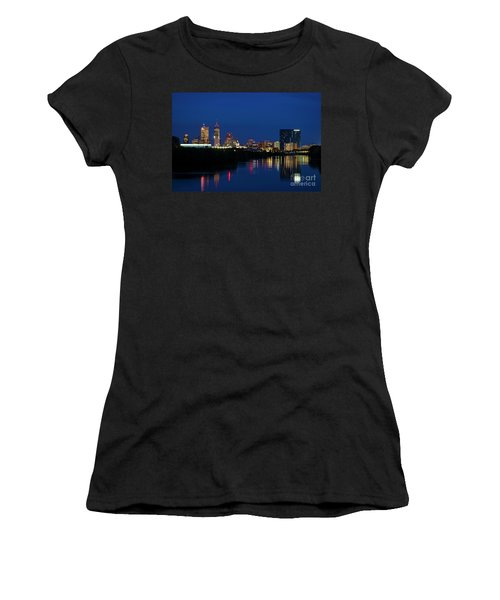 Women's T-Shirt (Junior Cut) featuring the photograph Reflections Of Indy - D009911 by Daniel Dempster