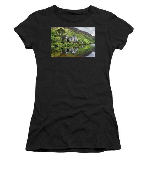 Reflections Of Kylemore Abbey Women's T-Shirt