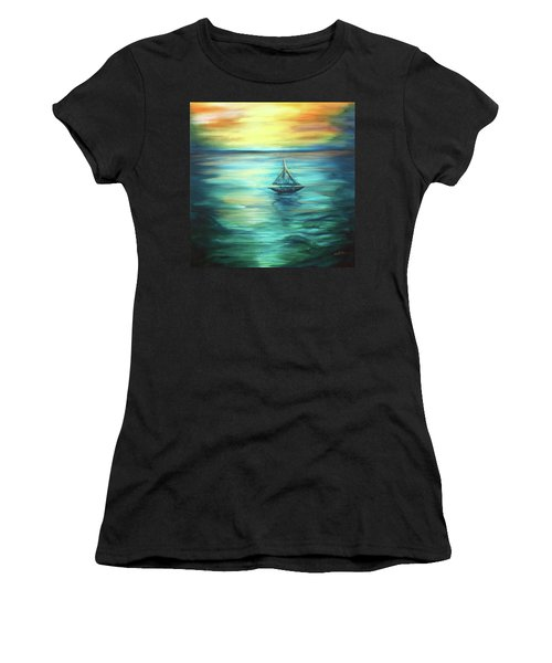 Reflections Of Peace Women's T-Shirt