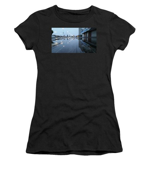 Reflections Of The Boardwalk Women's T-Shirt