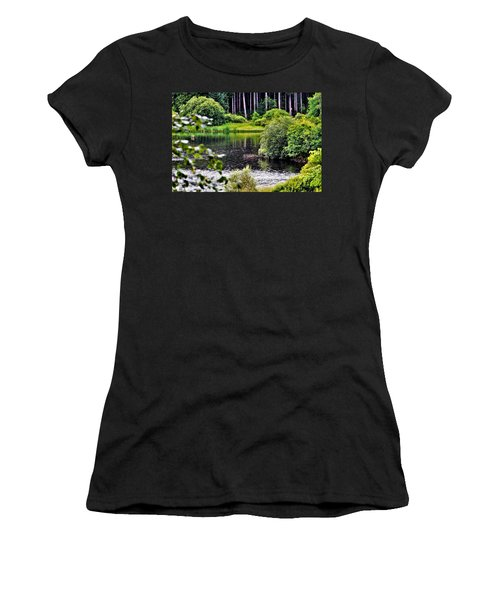 Reflections On Kielder Water Women's T-Shirt