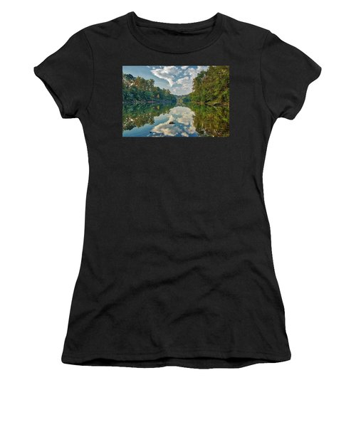 Reflections On The Meramec Women's T-Shirt