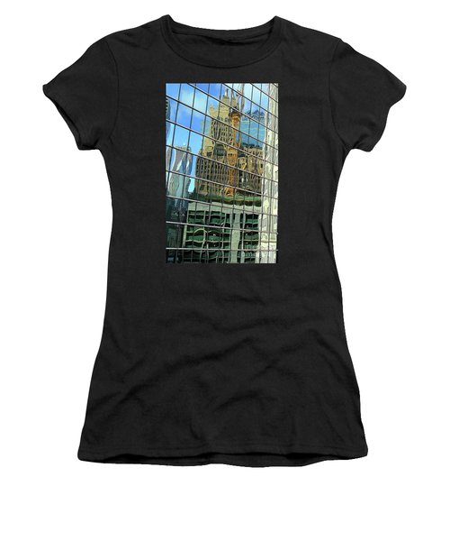 Reflective Chicago Women's T-Shirt (Athletic Fit)