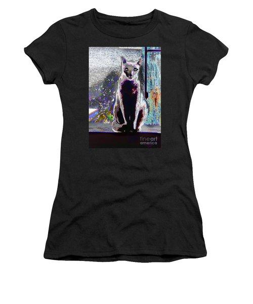 Regal Puss Women's T-Shirt (Athletic Fit)