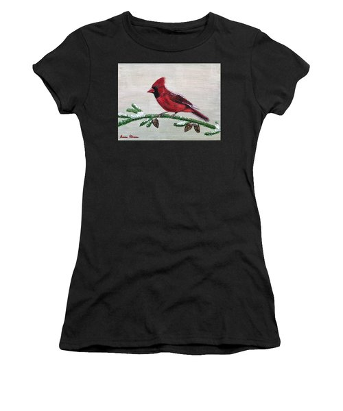 Regal Red Women's T-Shirt (Athletic Fit)
