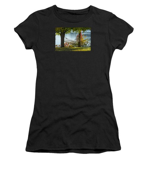 Relax By The Water Women's T-Shirt (Athletic Fit)