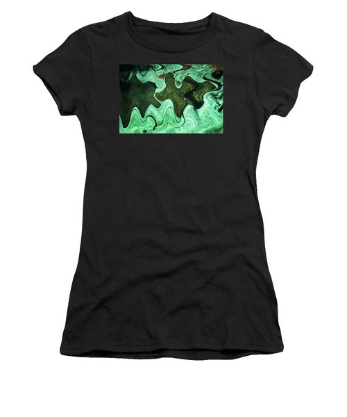 Relaxing Abstract Of Rays And Sharks Women's T-Shirt