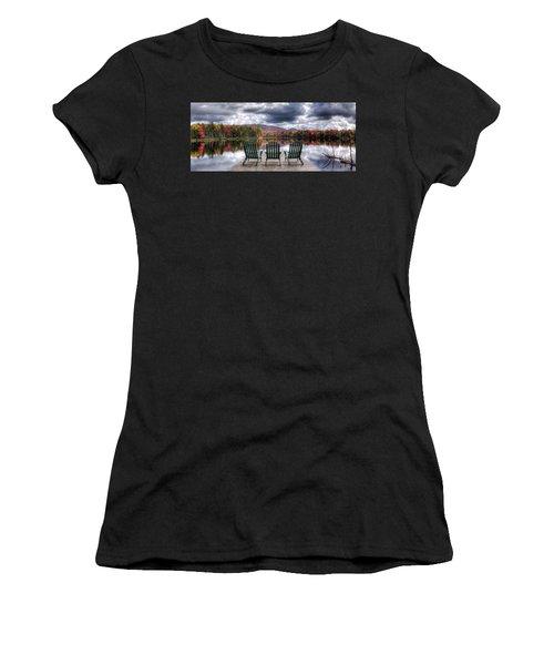 Relishing Autumn Women's T-Shirt (Junior Cut) by David Patterson