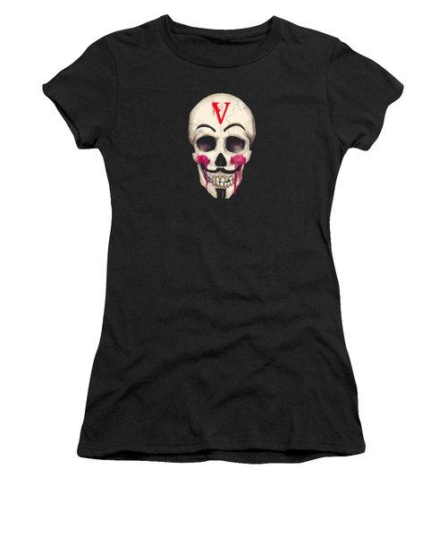 Remember, Remember Art Print Women's T-Shirt (Athletic Fit)