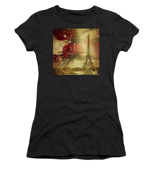 Remembering Paris Women's T-Shirt (Athletic Fit)