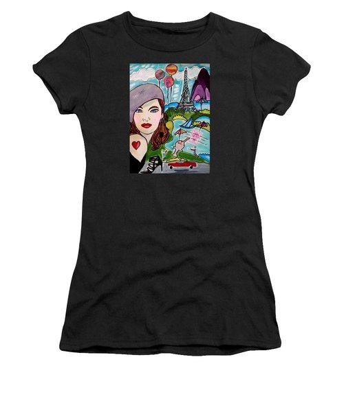 Remembering Paris Women's T-Shirt