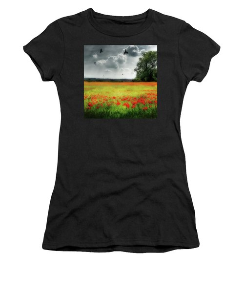 Remember #rememberanceday #remember Women's T-Shirt (Athletic Fit)