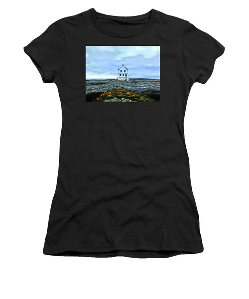 Remnants On The Rocks Women's T-Shirt