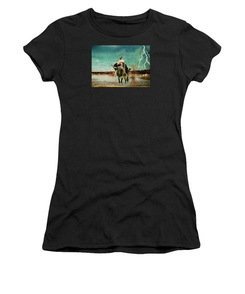 Rescue Women's T-Shirt (Athletic Fit)