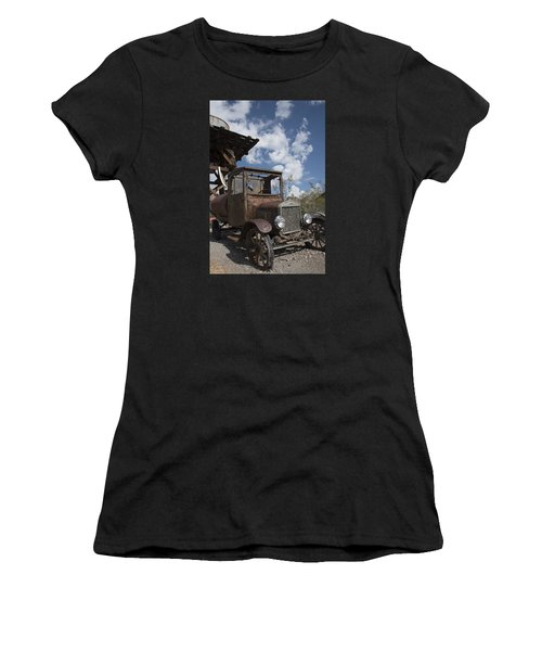 Rest Stop Women's T-Shirt (Athletic Fit)