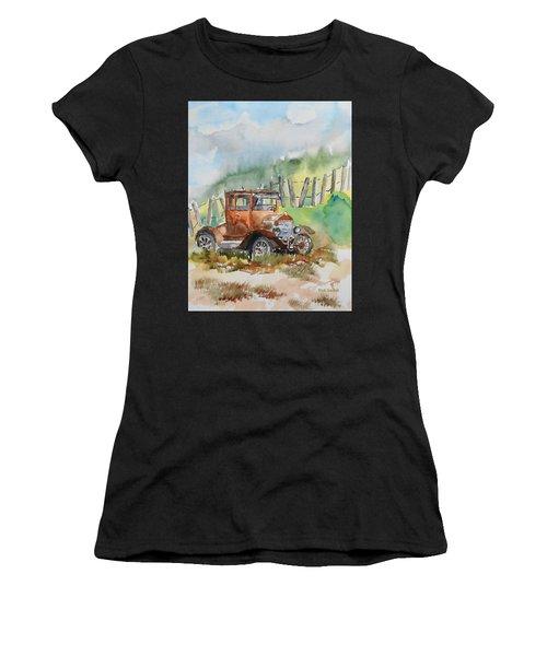Rest Stop Women's T-Shirt (Athletic Fit)