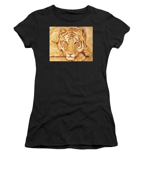 Resting Tiger Women's T-Shirt
