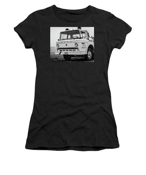 Retired Fire Truck Women's T-Shirt