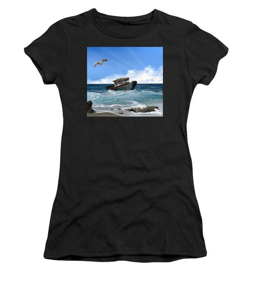Retiring From The Fleet Women's T-Shirt