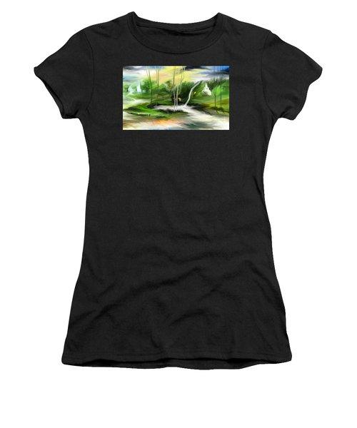 Retreat Women's T-Shirt (Athletic Fit)