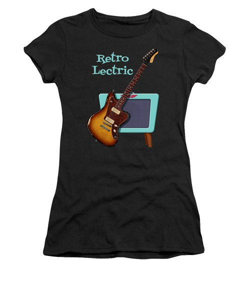 Retro Lectric Women's T-Shirt (Athletic Fit)