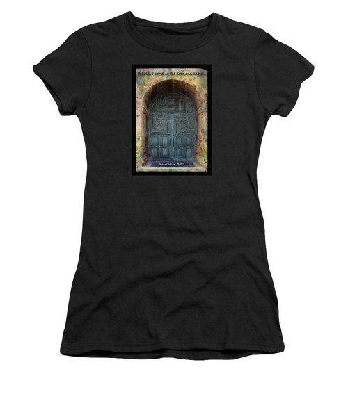 Revelation 3 Vs 20 Women's T-Shirt