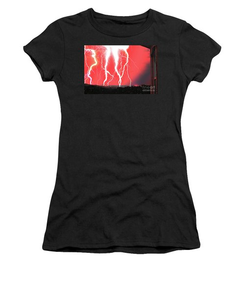 Lightning Apocalypse Women's T-Shirt