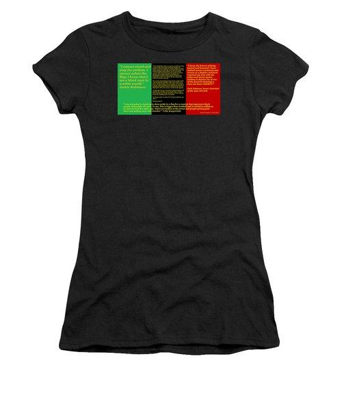 Colin Kaepernick Rbg Women's T-Shirt