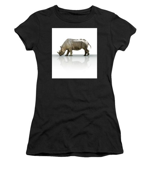 Rhinoceros Women's T-Shirt (Athletic Fit)