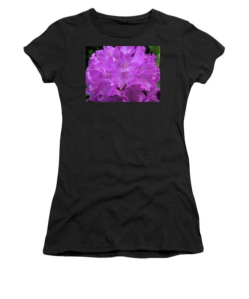 Rhododendron With Stamen And Stigma Women's T-Shirt