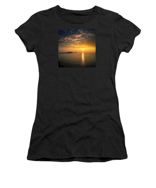 Rhosili 1 Women's T-Shirt (Athletic Fit)