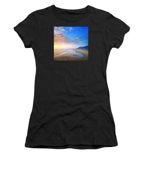 Rhosili 2 Women's T-Shirt (Athletic Fit)