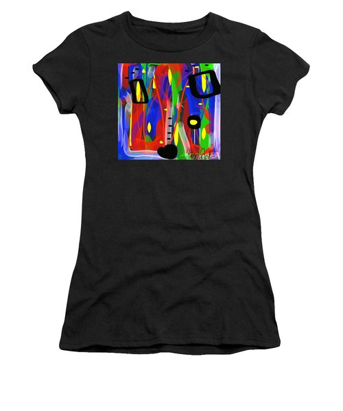 Ribbon Of Thought Women's T-Shirt (Athletic Fit)