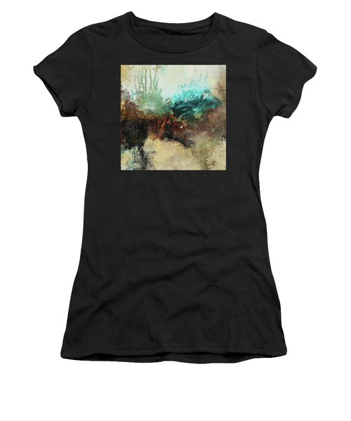 Rich Earth Tones Abstract Not For The Faint Of Heart Women's T-Shirt