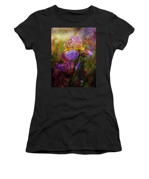Rich Purple Irises 0056 Idp_22 Women's T-Shirt