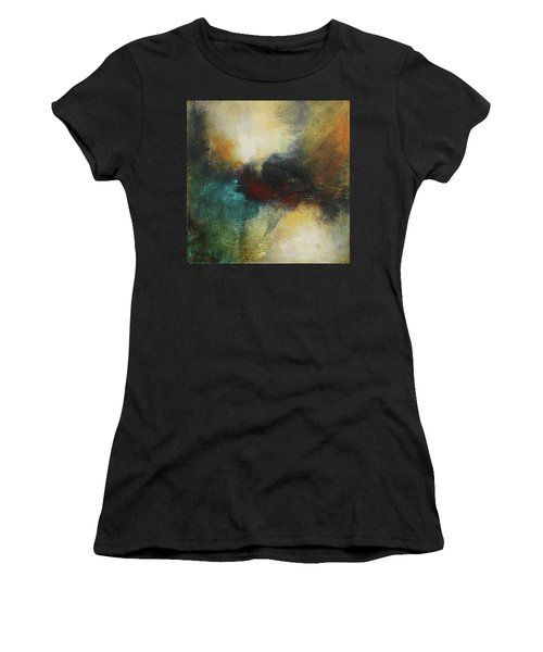Rich Tones Abstract Painting Women's T-Shirt