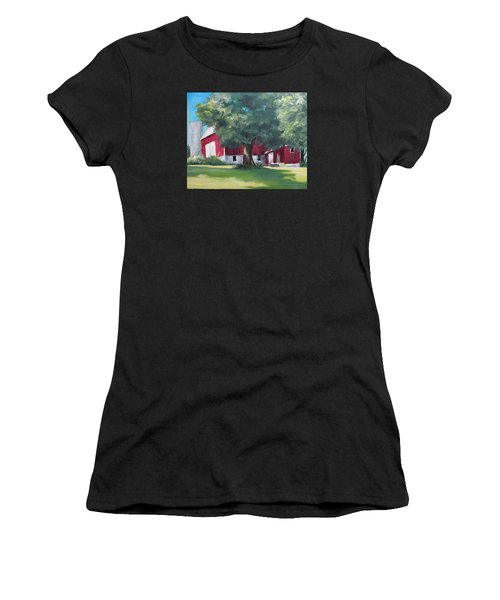 Rich's Barn Women's T-Shirt (Athletic Fit)