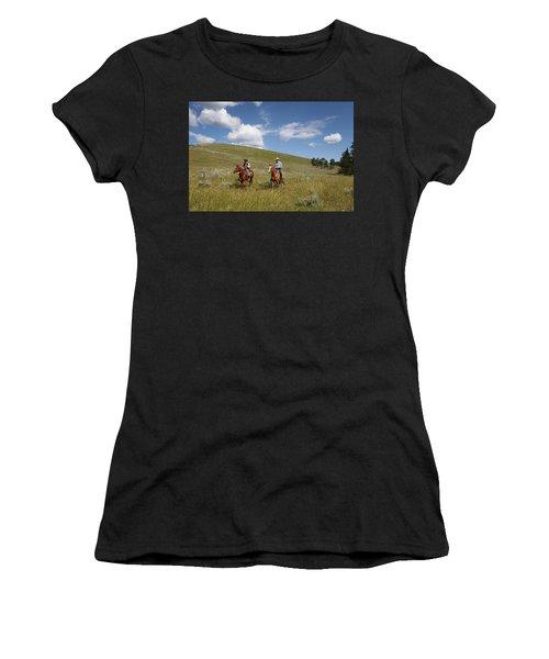 Riding Fences Women's T-Shirt