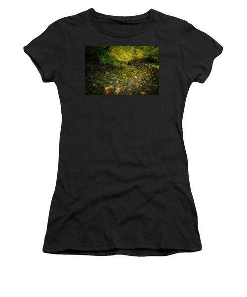 Riding Stream Women's T-Shirt (Athletic Fit)