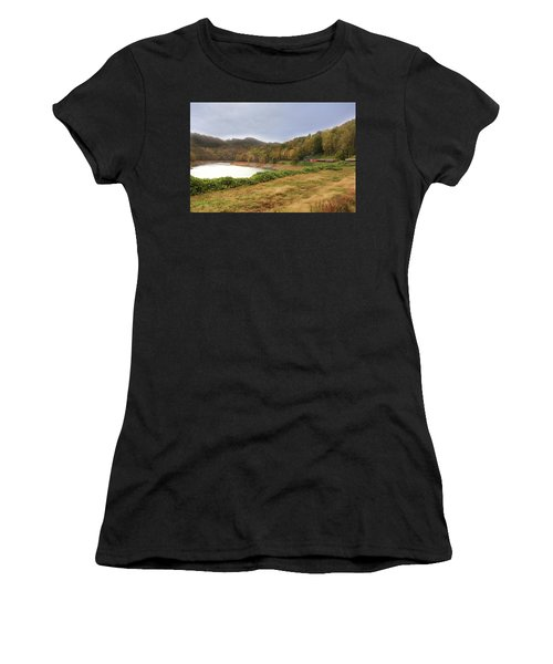 Riding The Rails Women's T-Shirt (Athletic Fit)