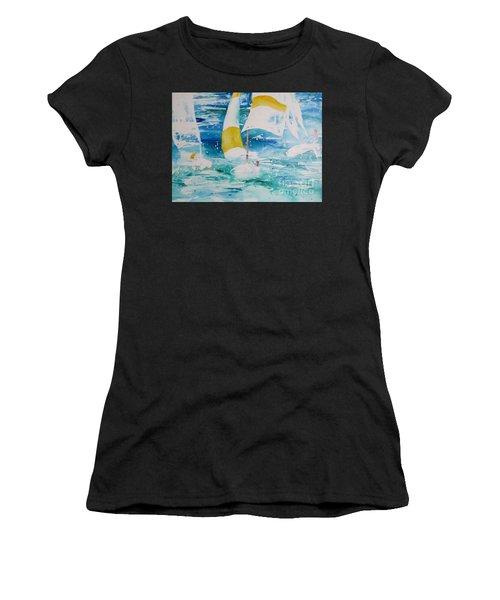 Riding The Wind Women's T-Shirt
