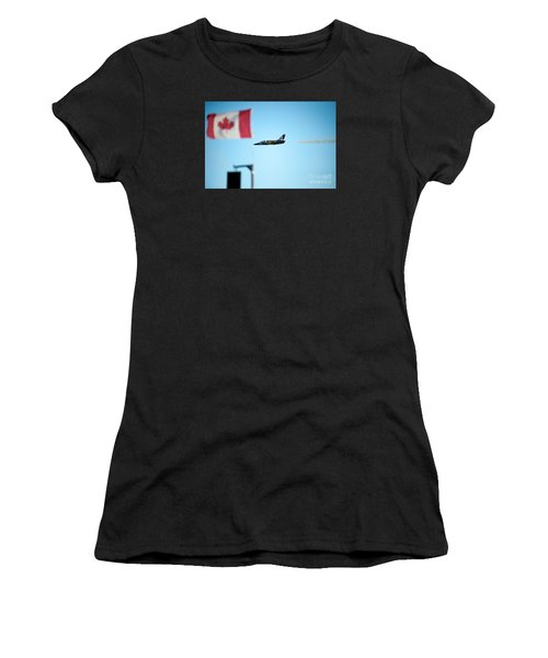 Rightside Up Women's T-Shirt (Athletic Fit)