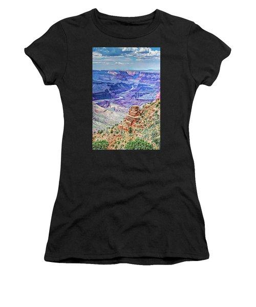 Rim Shot Women's T-Shirt (Athletic Fit)