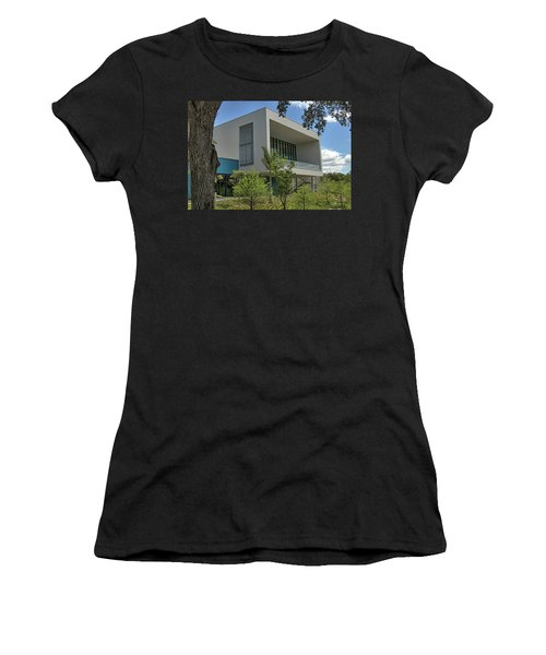 Women's T-Shirt featuring the photograph Ringling College Of Art And Design Library - Image 1 by Richard Goldman