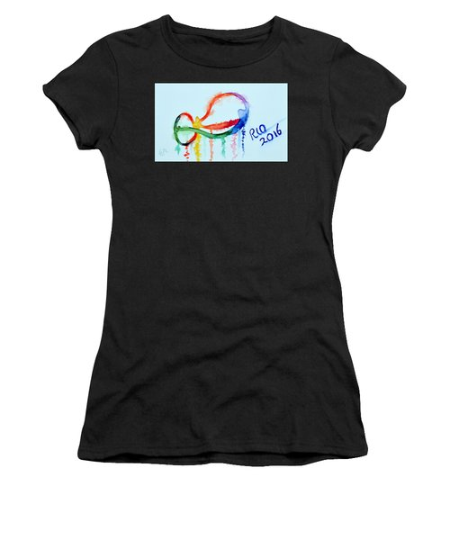 Rio 2016 Women's T-Shirt (Athletic Fit)