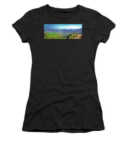 Rio De Janeiro Brazil Panorama Women's T-Shirt (Athletic Fit)