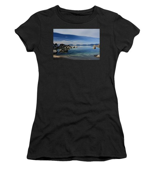 Women's T-Shirt featuring the photograph Ripples   by Sean Sarsfield